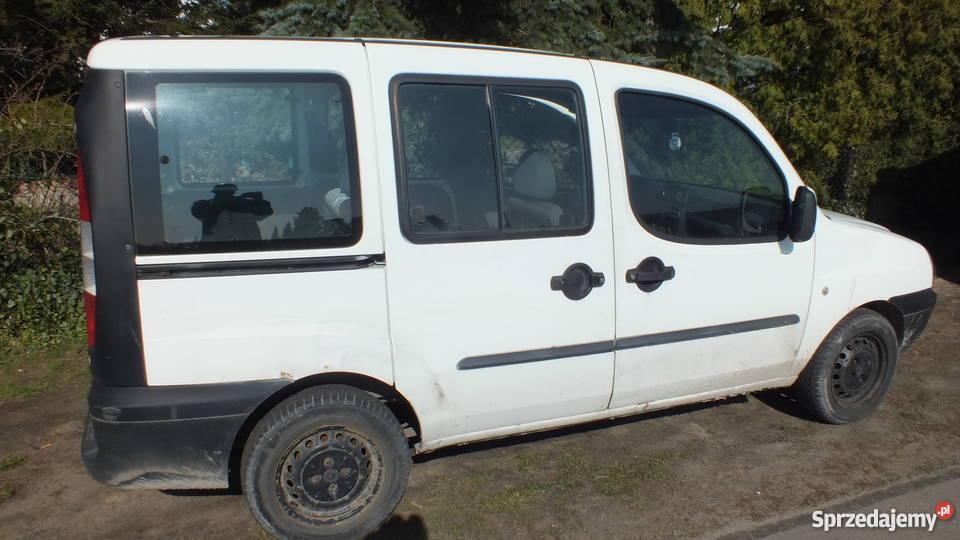 Fiat Doblo 1,9d 2002r. części