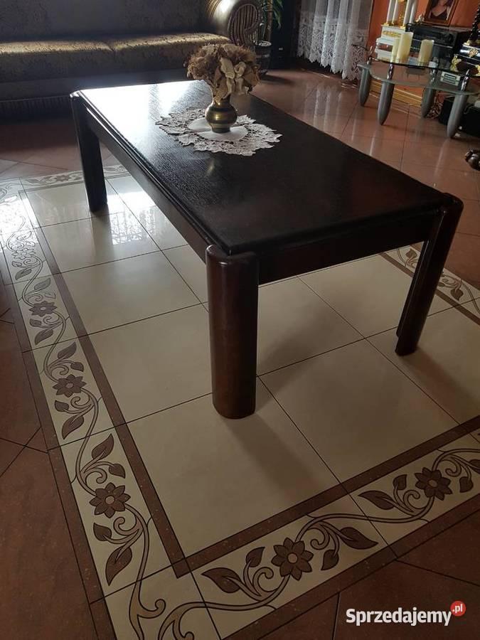 Dębowa ława, stolik, stół - MASYWNA!