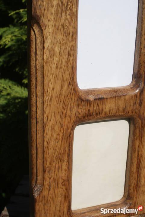 Duża drewniana ramka na zdjęcia motyw w słonie mazowieckie Warszawa