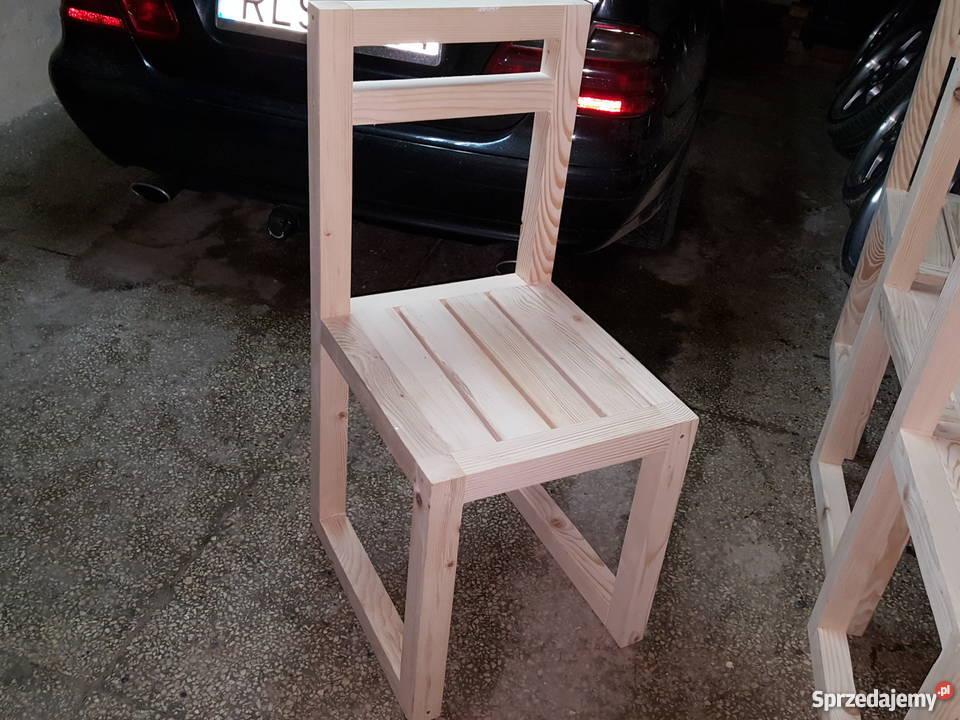 meble ogrodowe piękne składane krzesła nowe Lesko