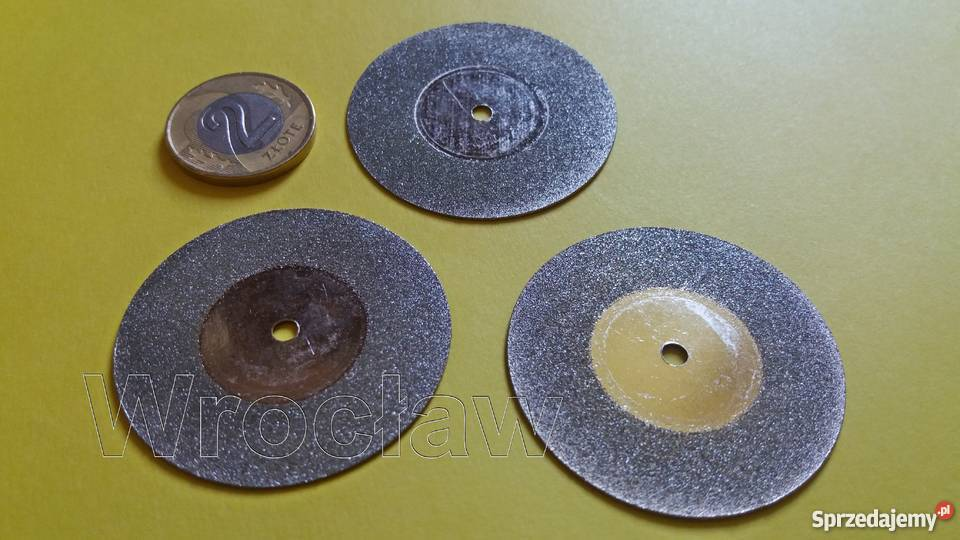 tarcze diamentowe 40 mm do dremela 3 sztuki dolnośląskie Wrocław