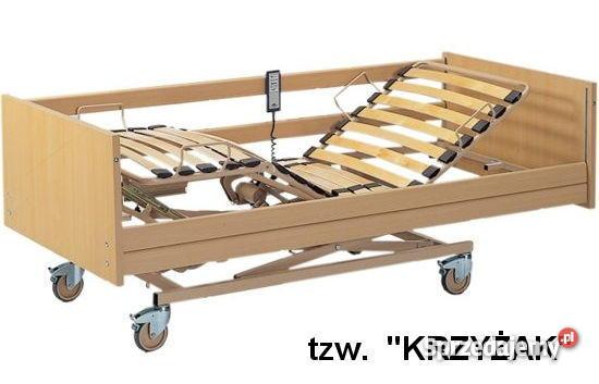łóżko Rehabilitacyjne Ortopedyczne Szpitalne Elektryczne