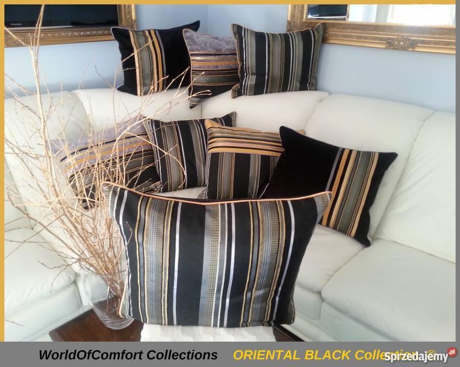 Poduszki Dekoracyjneposzewki Ozdobne 50x60cm Oriental Black