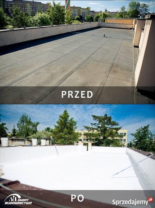 Ocieplenie dachu płaskiego Smart Budownictwo Lubin