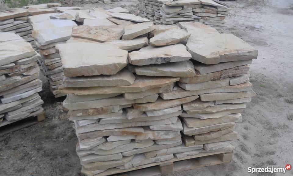 Kamień piaskowiec dzikówka elewacje ogrodzenia Materiały budowlane Śmiłów