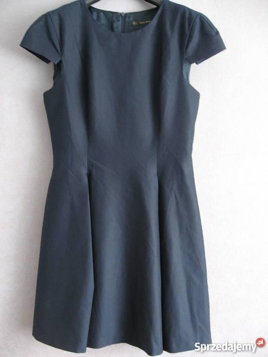 7431aa3fdc Sukienka granatowa Zara L Sosnowiec - Sprzedajemy.pl