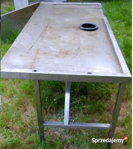 wózki szafy bemary blaty wydawki lodówki zlewoz Biała Rawska