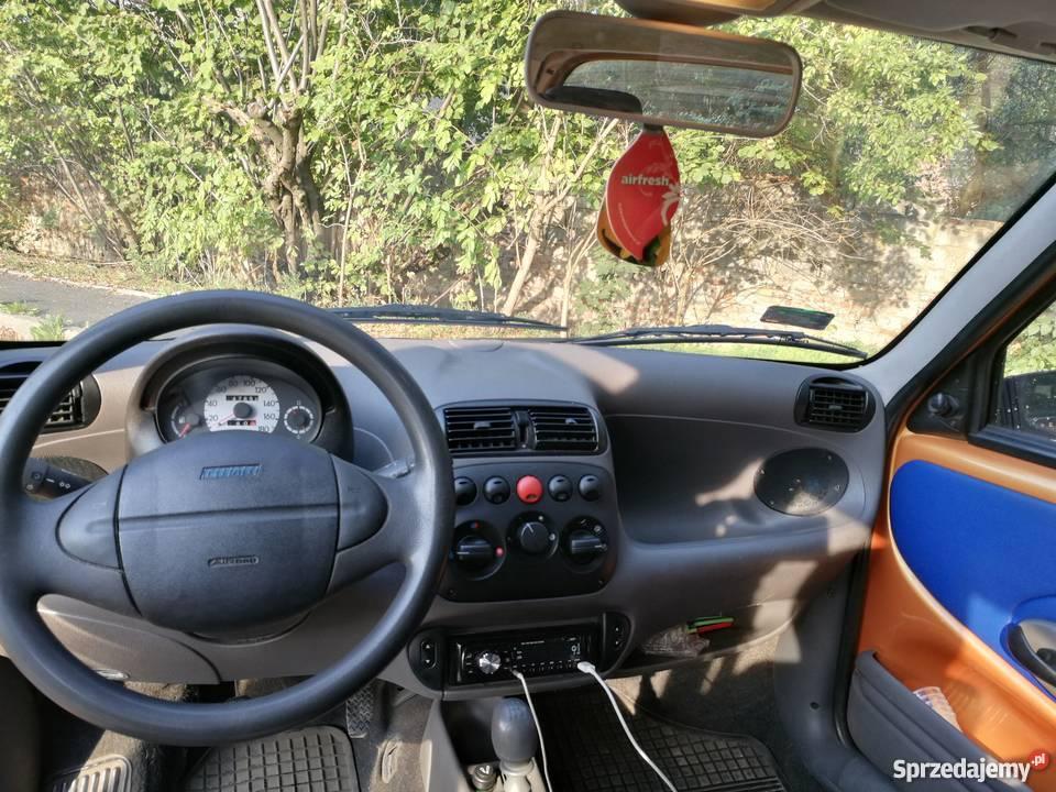 Fiat Seicento 11 Okazja manualna Zabrze sprzedam