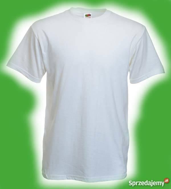 2 Pack T shirt SUPER PREMIUM kolor biały FRUIT of the LOOM