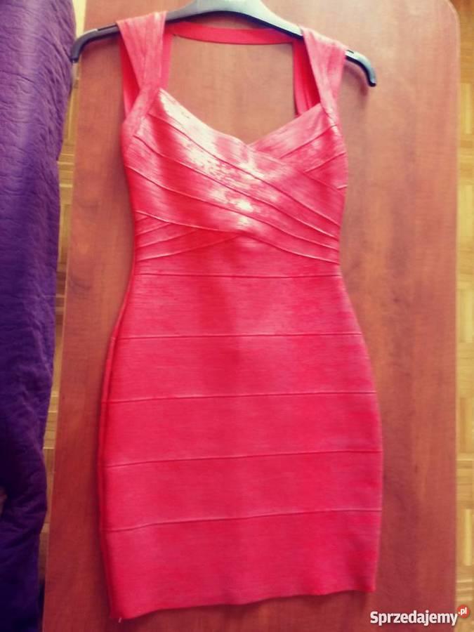 2949ad6dec seksowna czerwona sukienka - Sprzedajemy.pl