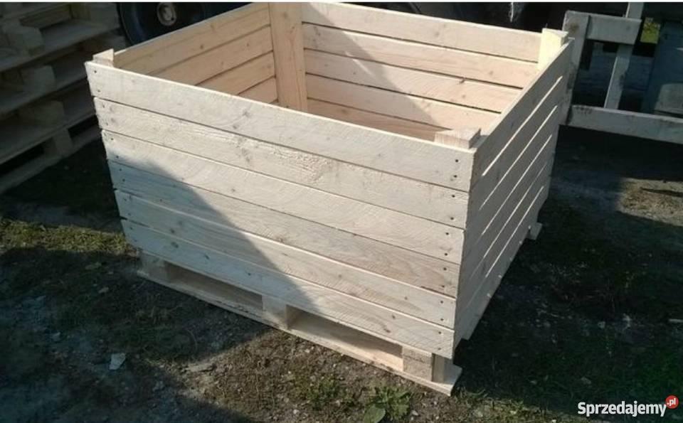 Ogromny Drewniane skrzynie na jabłka od producenta Warszawa - Sprzedajemy.pl SP54