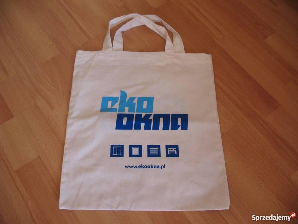 eaae33c0954a4 Ekologiczna, bawełniana torba z nadrukiem Chorzów - Sprzedajemy.pl