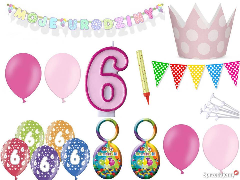 Zestaw Dekoracji Na 6789 Urodziny Dziewczynka Chłopiec