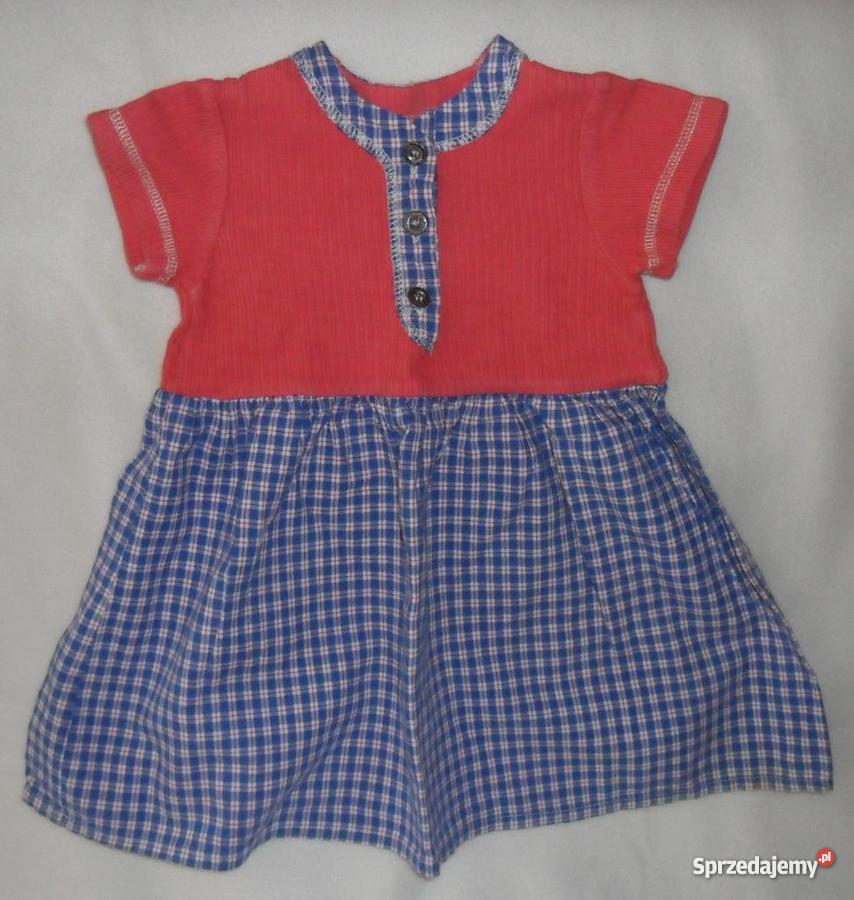 91ef5b12e5 Sukienka z krótkim rękawkiem 80 612 miesięcy dziewczynka
