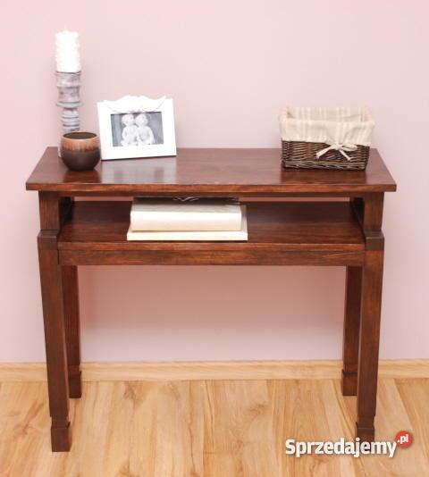 stolik konsola toaletka stoliczek drewniane