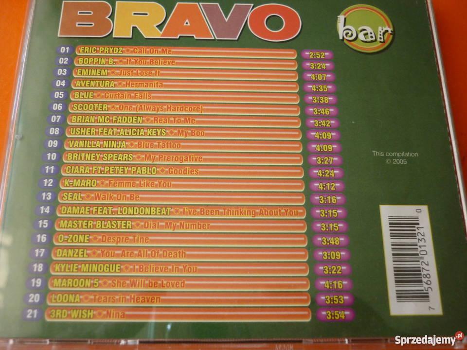 Płyta CD Bravo Bar Usher Scooter Minogue Maroon mazowieckie Warszawa