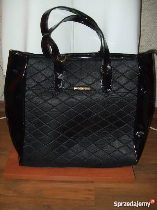 38b56f094b0d4 torebki czarne pikowane - Sprzedajemy.pl