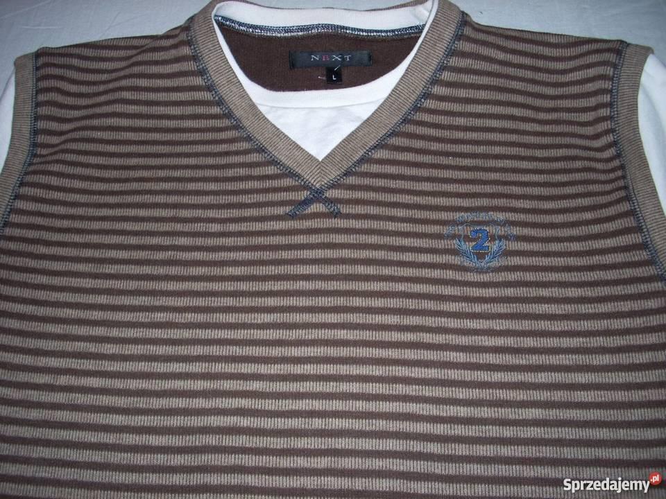 991d24bc608e2 NEXT bluza bezrękawnik + t-shirt 2w1 j Nowa L Nowy Sącz - Sprzedajemy.pl