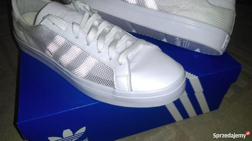 Adidas Court Vantage r 45 29 przewiewne z boku biały Sportowe
