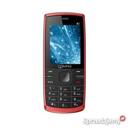 Telefon komórkowy compas DUAL SIM