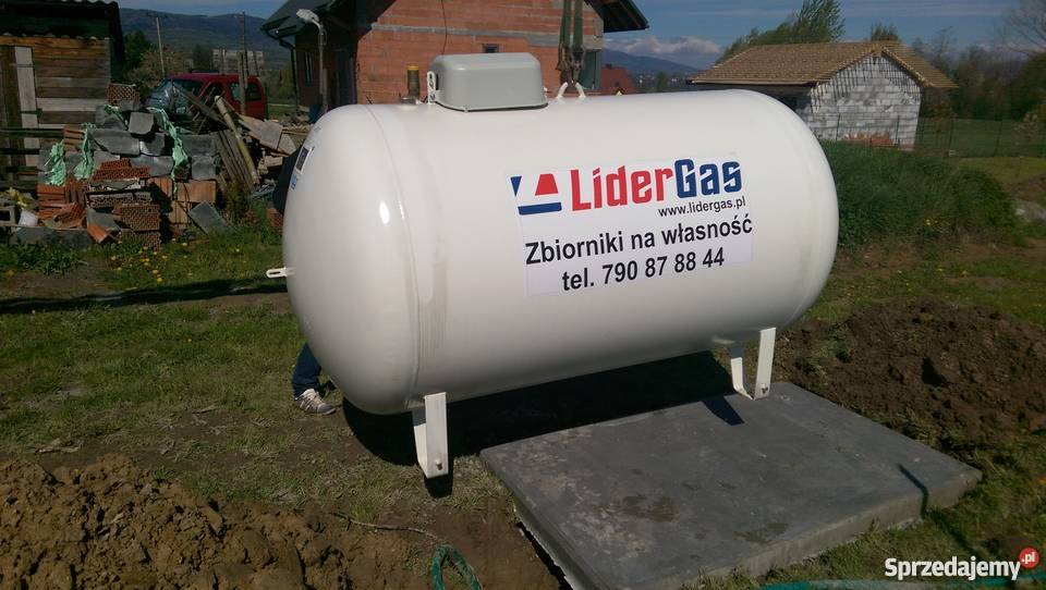 Zaktualizowano zbiornik na gaz cena - Sprzedajemy.pl LA31