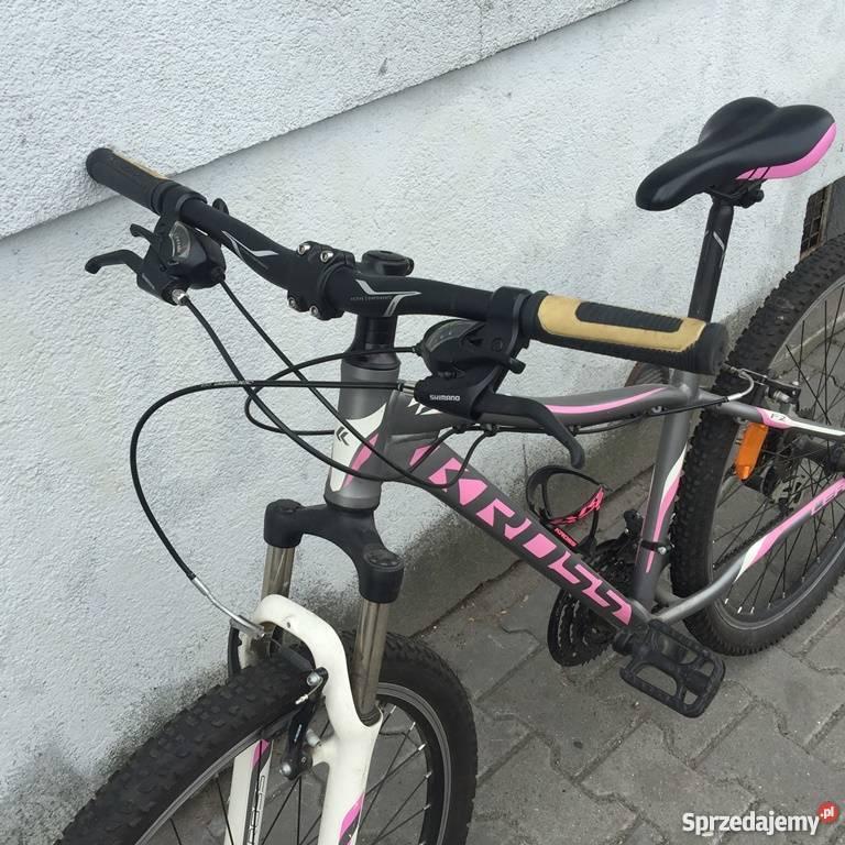 Rower KROSS LEA F2 różowografitowy mazowieckie Warszawa