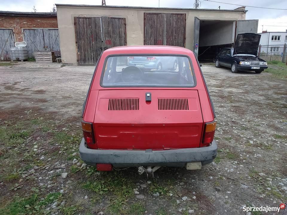 Fiat 126 1990 Maluch klasyk okazja pomorskie Tczew