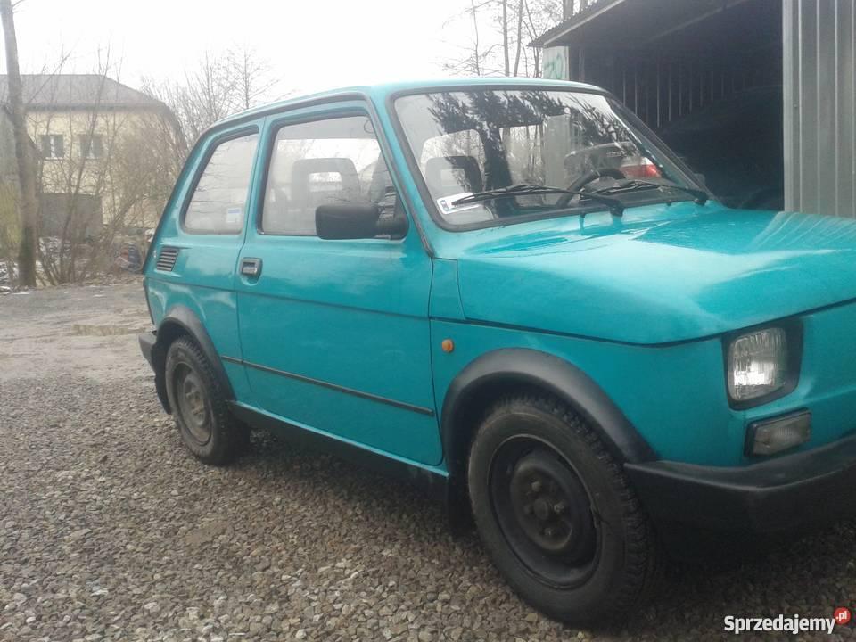 Fiat 126p Maluch Elegant Stan do Jazdy Poniatowa