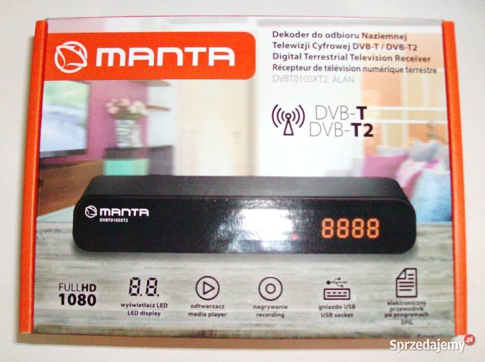 "Dekoder  ""MANTA"" DVB-T/T2 v.BDVBT010SXT2"