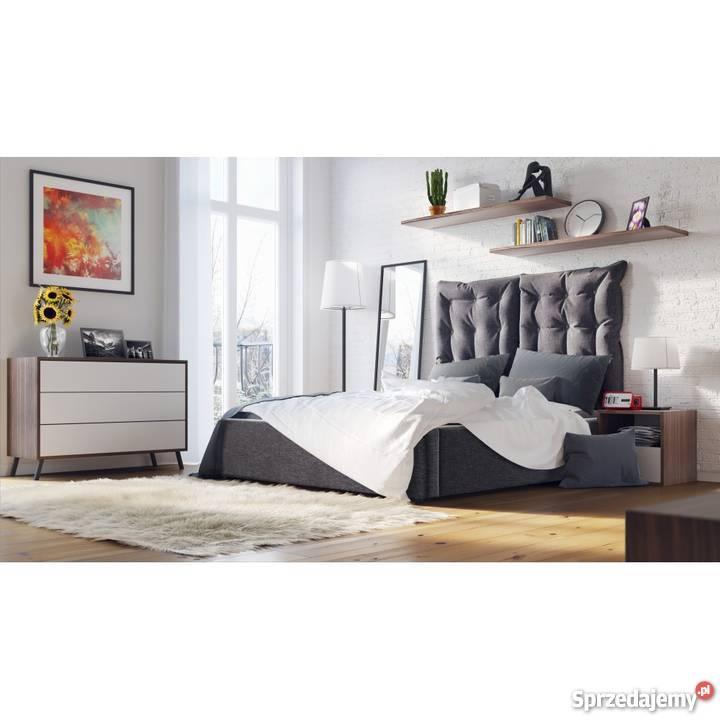 łóżko Tapicerowane Comfortbe City Z Pojemnikiem 180x200