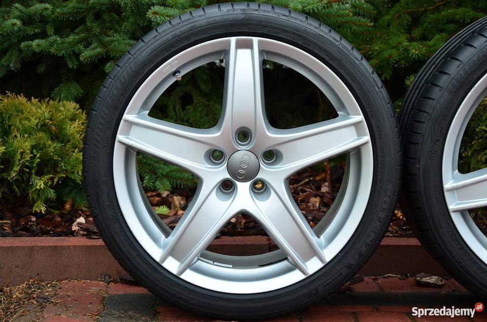 Felgi Audi 5x112 A4 B8 A6 C6 19 Nowe Opony Szczucin Sprzedajemypl