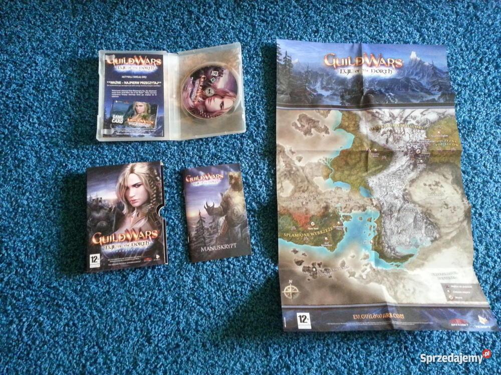 Gra Guild Wars z dodatkami Factions Nightfall i Józefów