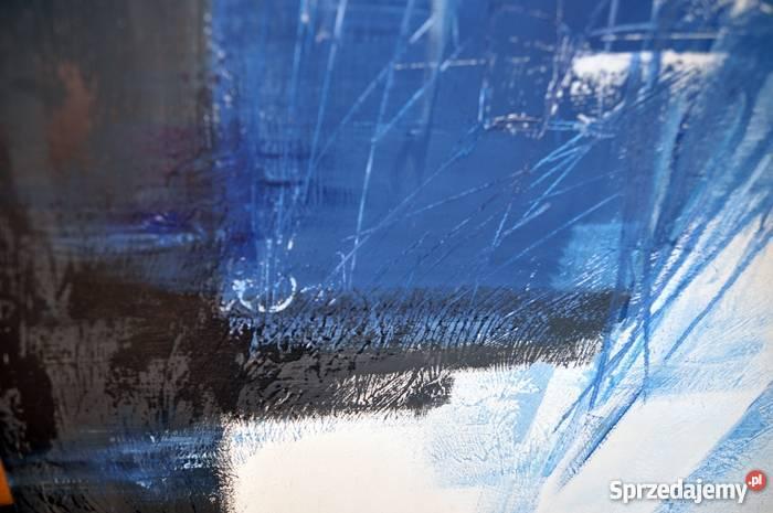 Abstrakcja GBC nowoczesny obraz ręcznie malowany Malbork