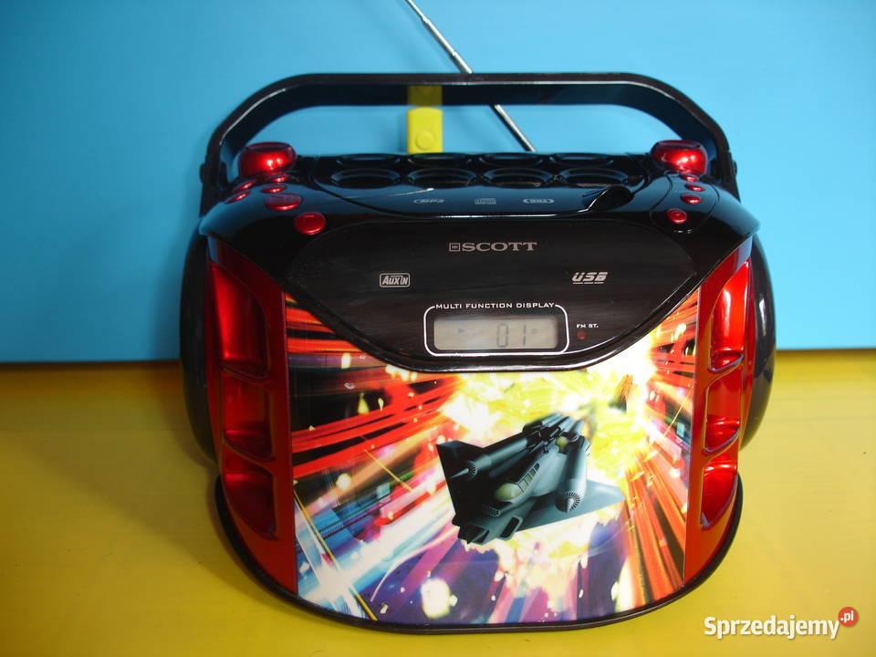 Radioodtwarzacz z CD SCOTT SDM-1050