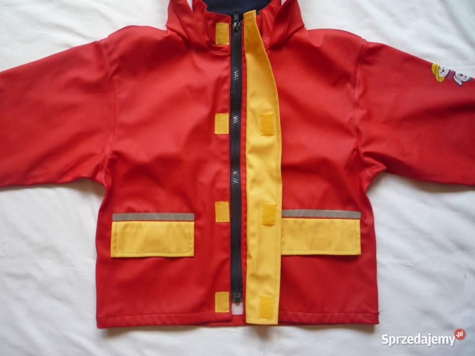 kurtka przeciwdeszczowa dla chlopca r 92