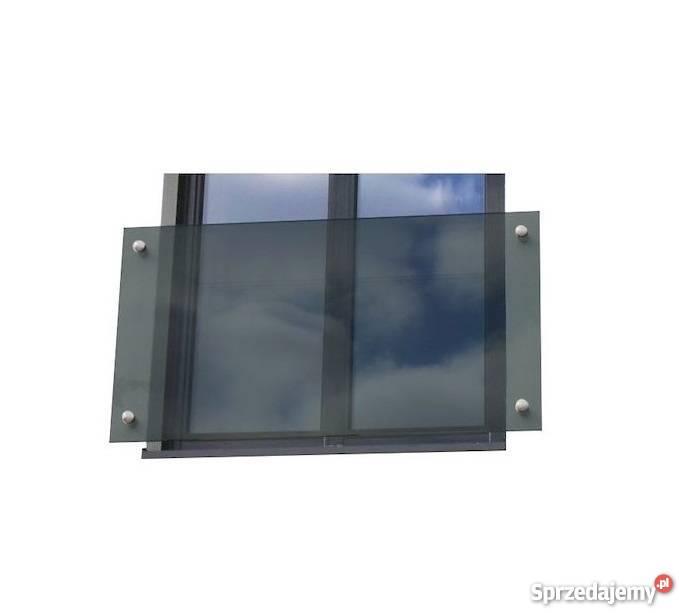 Balkon Francuski Szklany 110x100 Cm Balkony Grafit