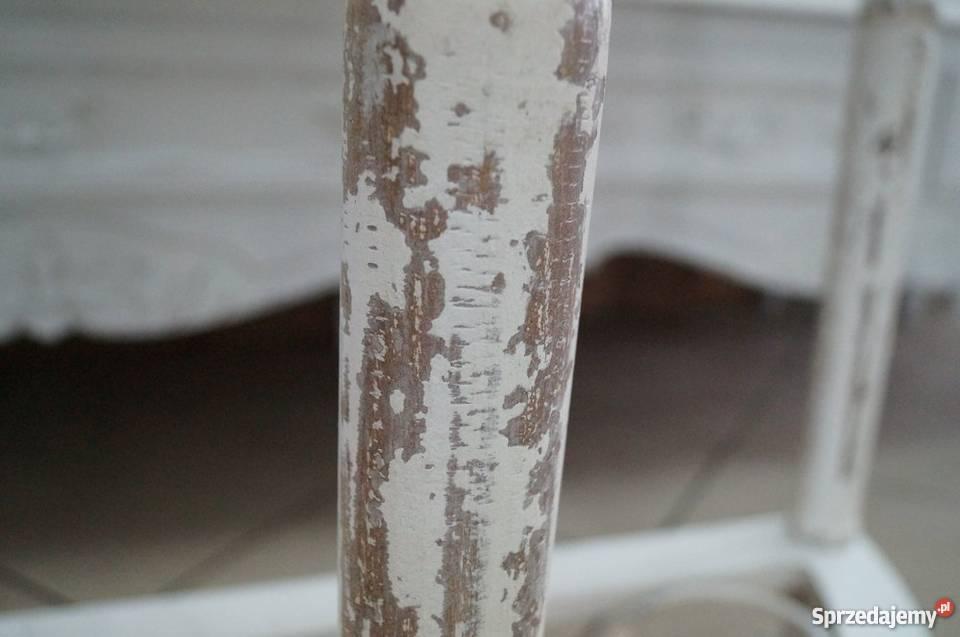 KONSOLA STOLIK NOWY drewno metal FRANCUSKI Koło
