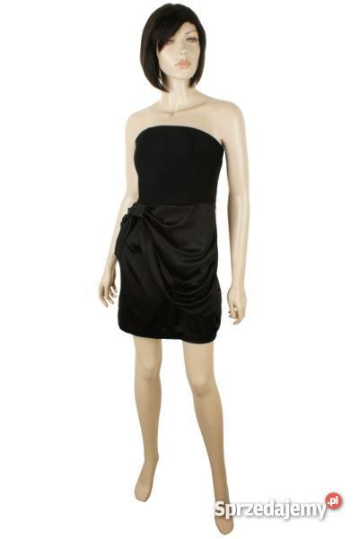 e67d7e1b82 Sukienka Mohito czarna elegancka kokarda gorset mini 40 - Sprzedajemy.pl