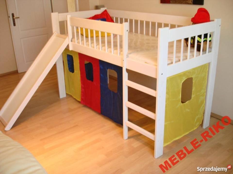 łóżko Pietrowe Ze Zjezdzalnią 80x160 Lub 80x180 Promocja Kępno