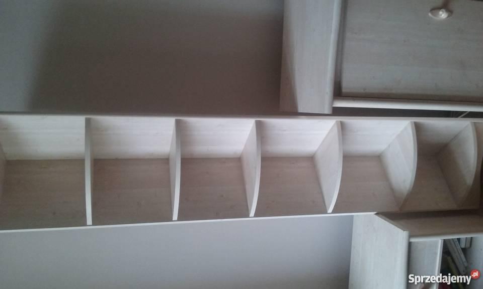 komoda 2 narożniki p243�ki i szafka z drewna toru�