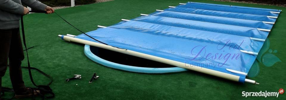 Przykrycie bezpieczne zimowe basen 620m x 300m Antoniówka