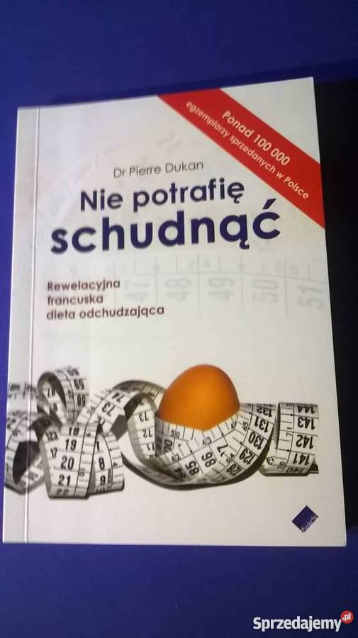 Nie potrafię schudnąć | Dr Pierre Dukan (książka) - Księgarnia sunela.eu