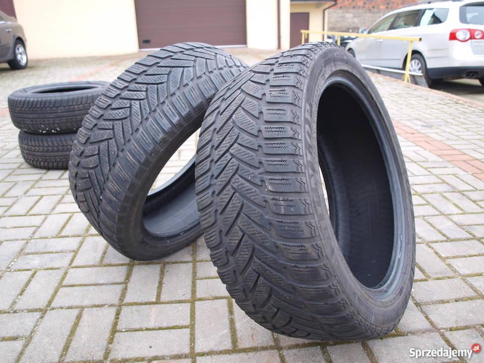 Opony Zimowe 245 45 18 Dunlop 2 Sztuki Kalisz Sprzedajemypl