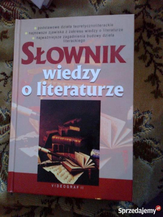 Słownik wiedzy o literaturze Videograf II mazowieckie