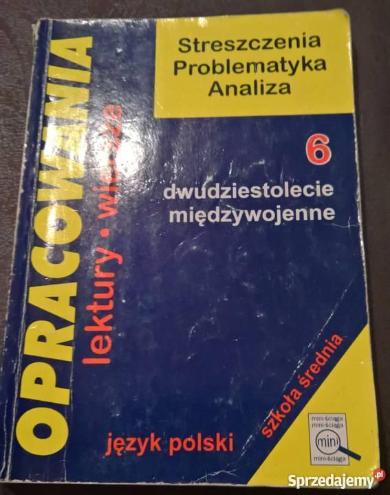 Streszczenia lektur Wrocław