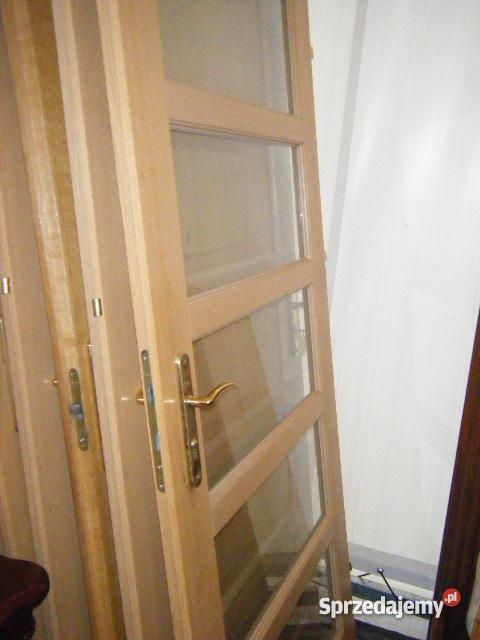 drzwi PORTA 708090 okleina dębowapełne i przeszk Drzwi i okna Dom i Ogród Warszawa