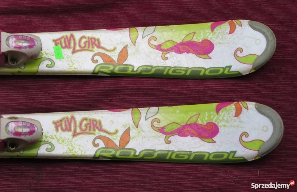 Narty Rossignol Fun Girl długość 100 Sporty zimowe Nowy Żmigród