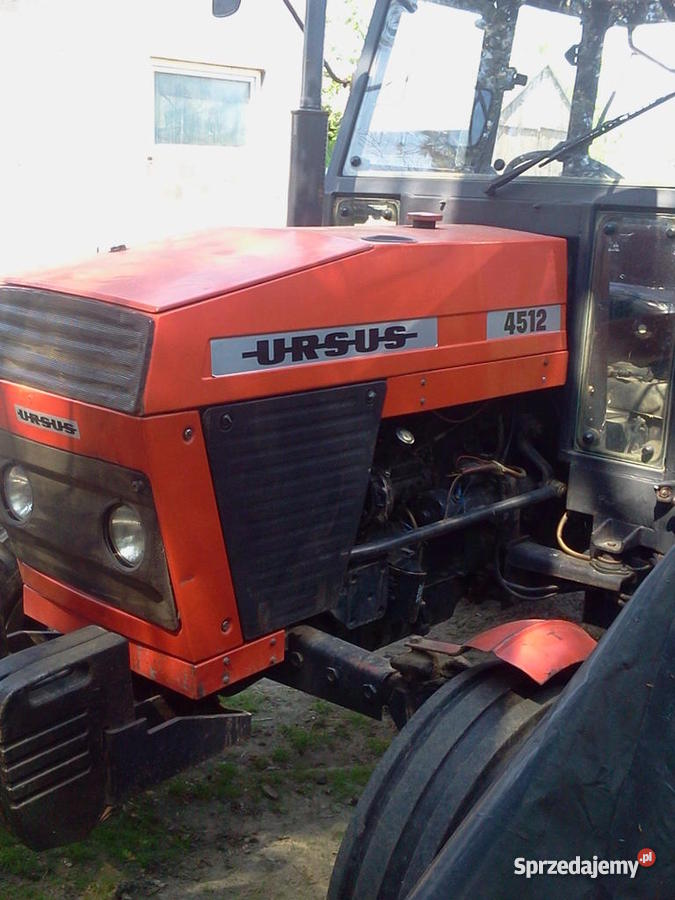 Ursus 4512 Rok produkcji 1990