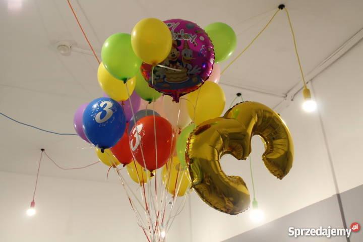 Balony Z Helem Oprawa Imprez Urodziny Roczek ślub Sosnowiec