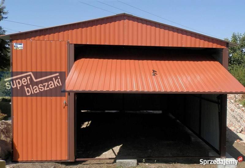 Garaż blaszany 4x6 8017 wzmocnione garaże 24m2 Radom sprzedam